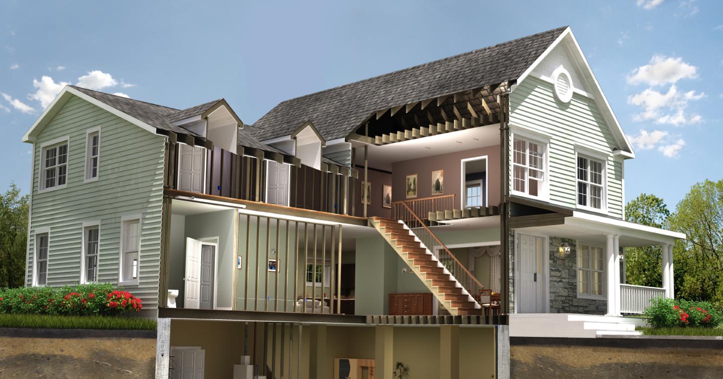 House background image